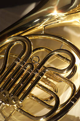 French Horn I Poster by Jon Neidert
