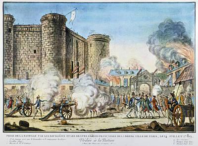 French Revolution Bastille Poster by Granger