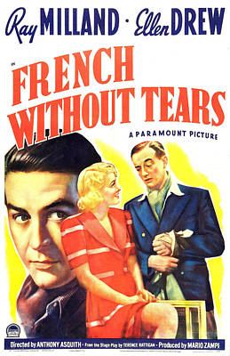 French Without Tears, British Poster Poster by Everett
