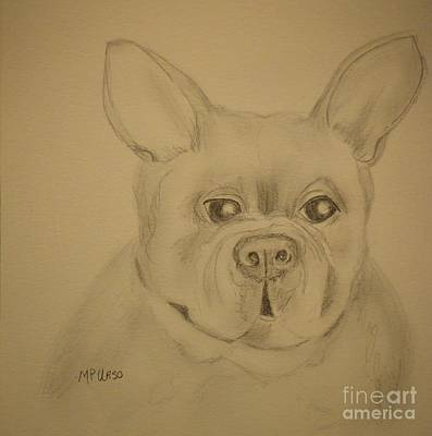 Frenchie Pup Poster by Maria Urso
