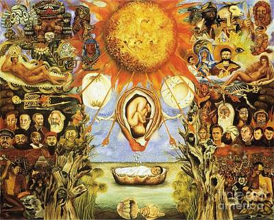 Frida Kahlo Moses Poster by Pg Reproductions