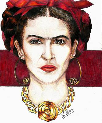 Friducha Poster by Kiana Llanos