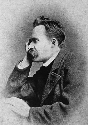 Friedrich Nietzsche(1844-1900) Poster by Granger