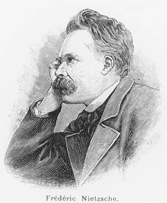 Friedrich Wilhelm Nietzsche Poster by French School