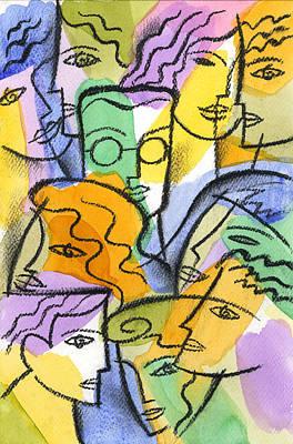 Friendship Poster by Leon Zernitsky