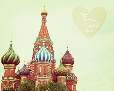 From Russia With Love Poster by Mable Tan