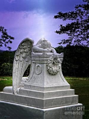 Perpetual Angel Poster by Ella Kaye Dickey