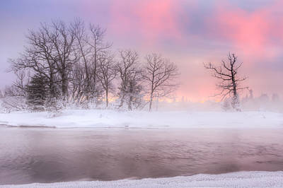 Frozen Island Poster by Jakub Sisak