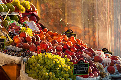 Fruit Stall Poster by Dutourdumonde Photography