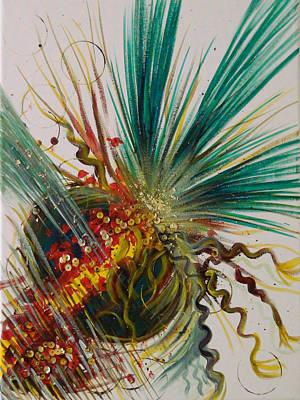 Fruits Explosion Poster by Strzebinczyk Lena
