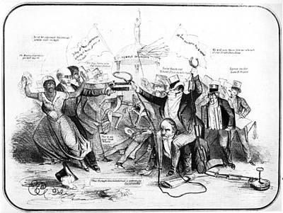 Fugitive Slave Law Poster by Granger