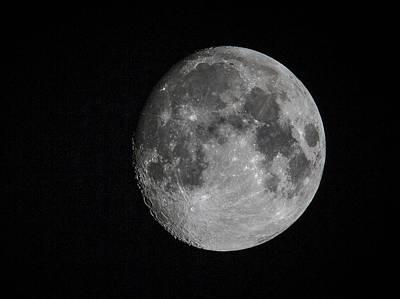 Full Moon Poster by Jean Noren