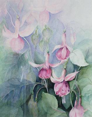 Fucshia, Pink Coachman Poster by Karen Armitage