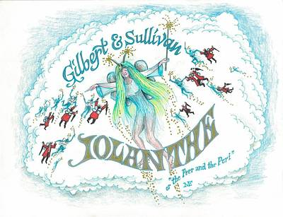 G And S Iolanthe Poster by Marty Fuller