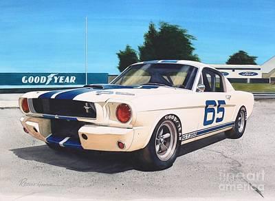 G T 350 Poster by Robert Hooper