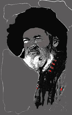 Gabby Hayes #3 Poster by David Lee Guss