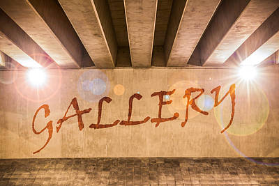 Gallery Poster by Semmick Photo