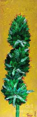 Ganja Poster by Teddy Maritopia