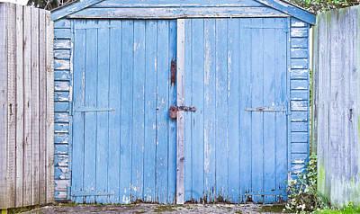 Garage Door Poster by Tom Gowanlock