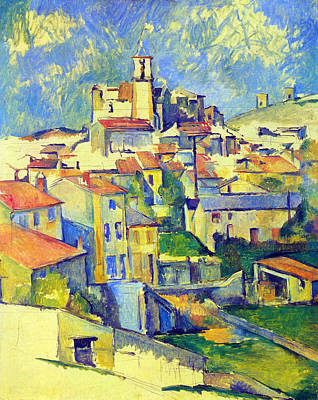 Gardanne By Cezanne Poster by John Peter