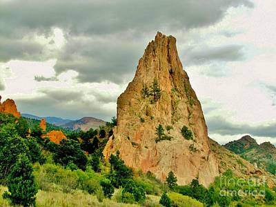 Garden Of The Gods Poster by Marilyn Smith
