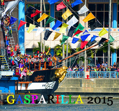 Gasparilla Victory 2015 Poster by David Lee Thompson