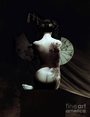 Geisha Poster by Shanina Conway