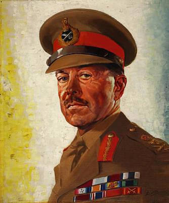 General Sir Howard Alexander Poster by Mountain Dreams