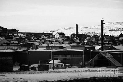 General View Across Kirkenes Finnmark Norway Europe Poster by Joe Fox
