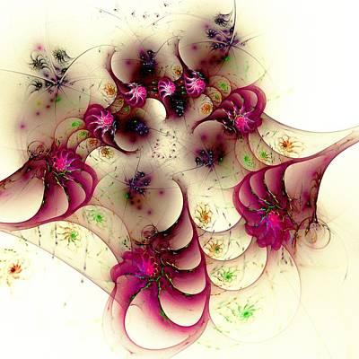 Gentle Pink Poster by Anastasiya Malakhova