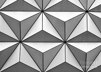 Geodesic Pyramids Poster by Sabrina L Ryan