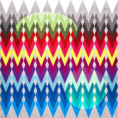 Geometric Colors  Poster by Mark Ashkenazi