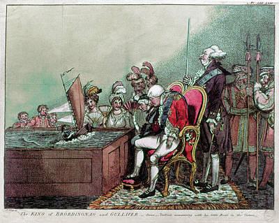 George IIi & Napoleon, 1804 Poster by Granger