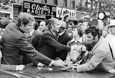George Mcgovern And Ed Muskie Poster by Underwood Archives