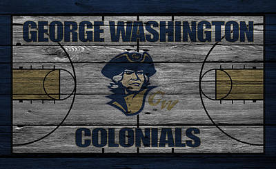 George Washington Colonials Poster by Joe Hamilton