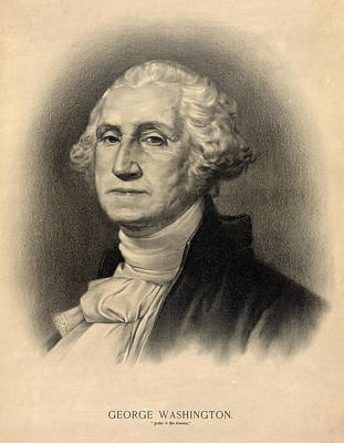 George Washington Poster by Digital Reproductions