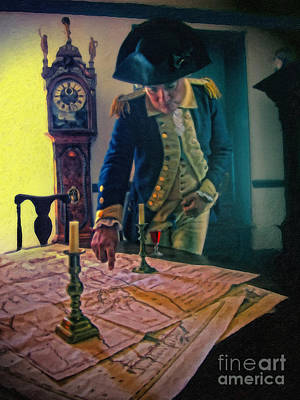 George Washington's Temporary Headquarters Poster by Nishanth Gopinathan