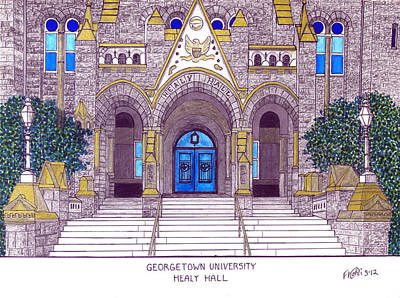 Georgetown University Poster by Frederic Kohli