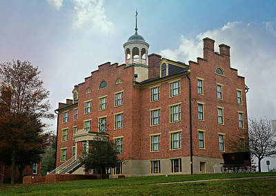 Gettysburg Schmucker Hall Poster by Stephen Stookey