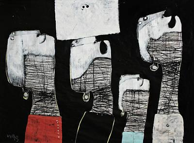Gigantes No. 10 Poster by Mark M  Mellon