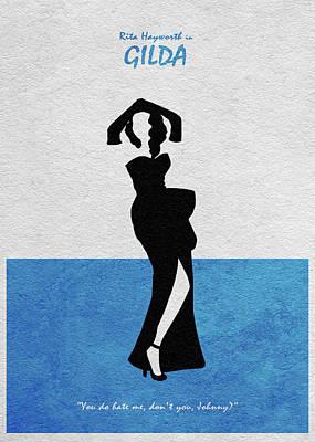 Gilda Poster by Ayse Deniz