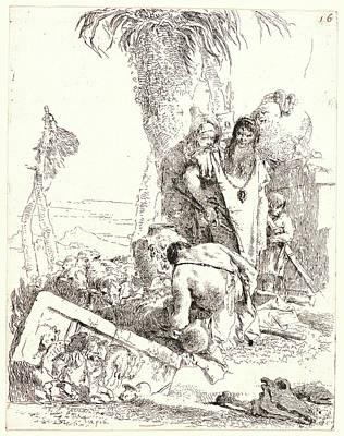 Giovanni Battista Tiepolo Aka Giambattista Tiepolo Italian Poster by Litz Collection