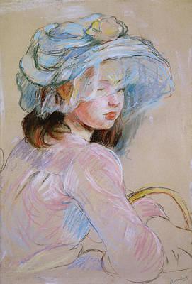 Girl Carrying A Basket Poster by Berthe Morisot