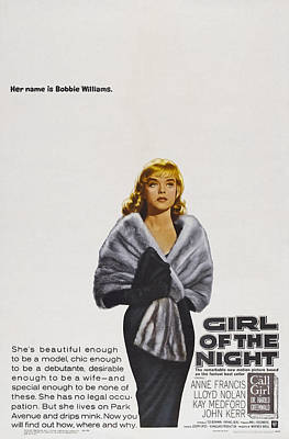 Girl Of The Night, Us Poster Art, Anne Poster by Everett