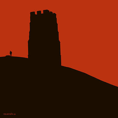 Glastonbury Tor Poster by Rob Meredith