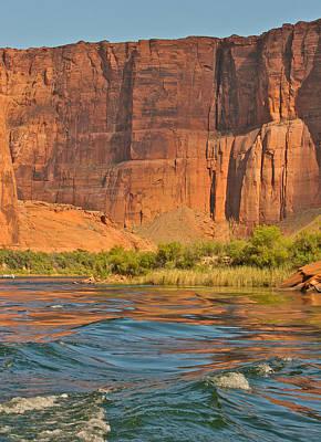Glen Canyon  Page Az Poster by Gail Maloney