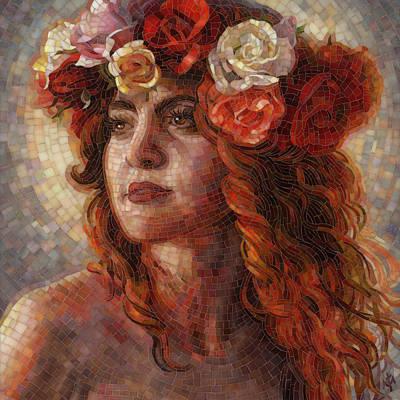 Glory Poster by Mia Tavonatti