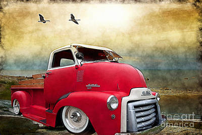 Gmc 350 Poster by Liane Wright