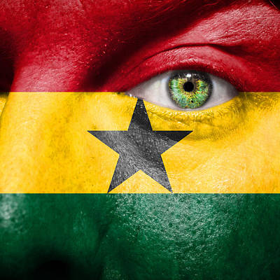 Go Ghana Poster by Semmick Photo