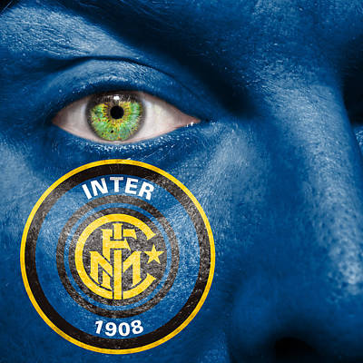 Inter Milan Poster featuring the photograph Go Inter Milan by Semmick Photo